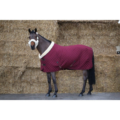 Kentucky Horsewear Show Rug Bordeaux Red
