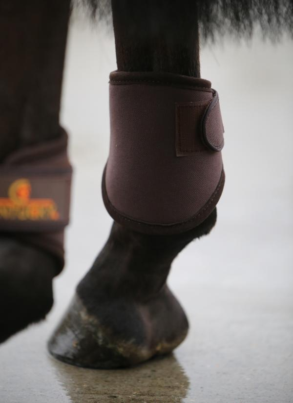 Kentucky Horsewear 3D Spacer Turnout Boot hind brown