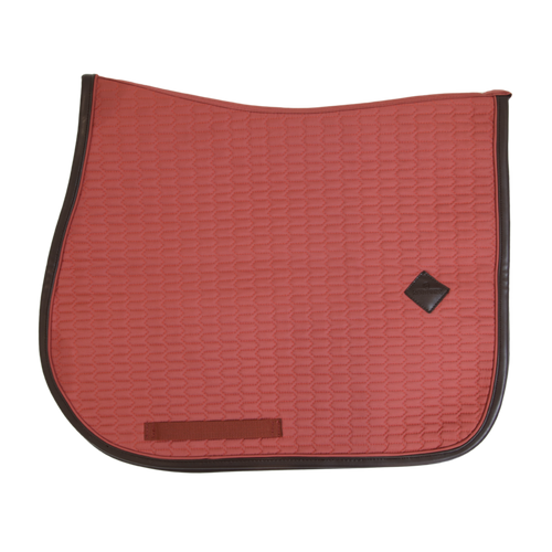 Kentucky Horsewear Saddlepad Leather Colour Edition