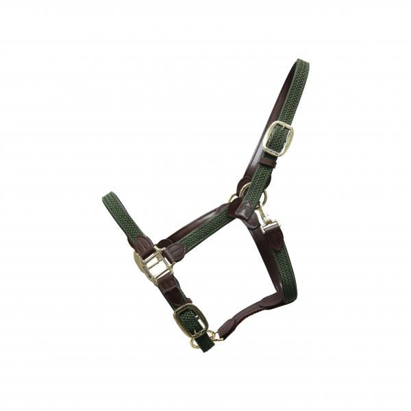 Kentucky Horsewear Plaited headcollar