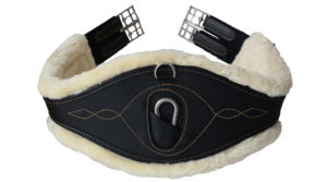 Kentucky Horsewear Sheepskin Anatomic Girth Black