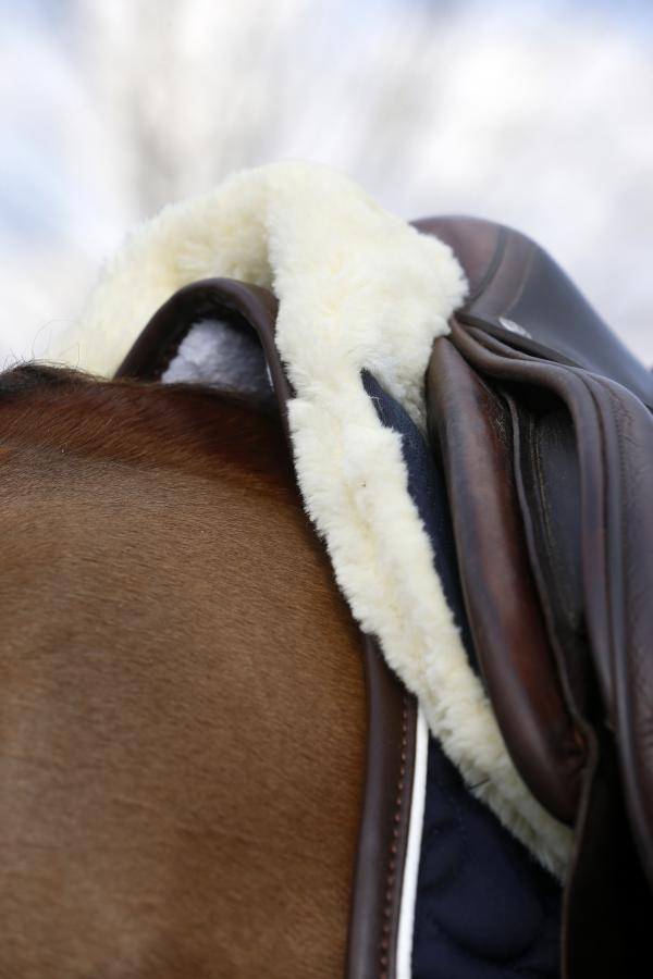 Kentucky Horsewear Sheepskin Half Pad Absorb