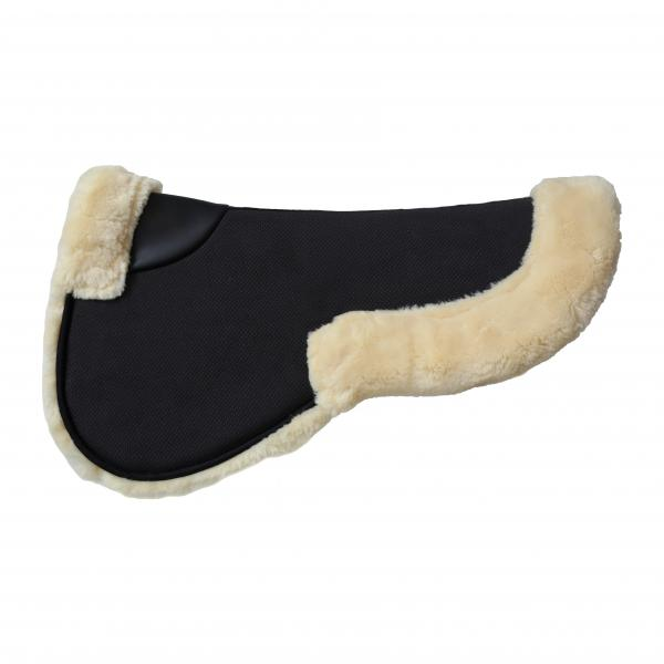 Kentucky Horsewear Sheepskin Half Pad Absorb black