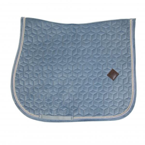 Kentucky Horsewear Velvet Saddlepad Showjumping