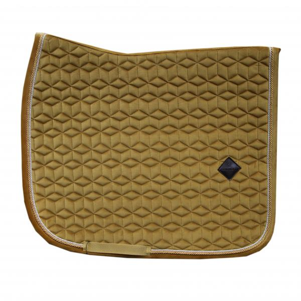 Kentucky Horsewear Velvet Saddlepad Dressage