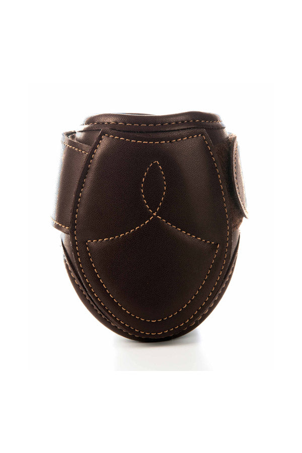 Kentucky Horsewear leather fetlock boot brown