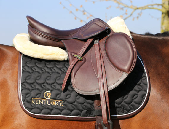 Kentucky Horsewear Saddle Pad Equissimo Black