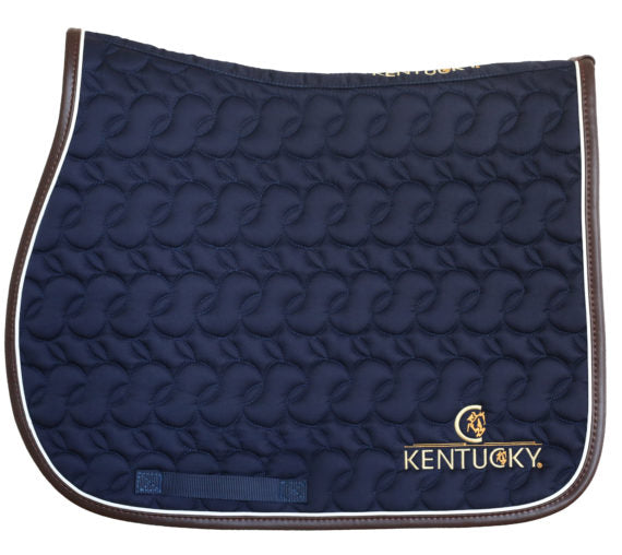 Kentucky Horsewear Saddle Pad navy Equissimo