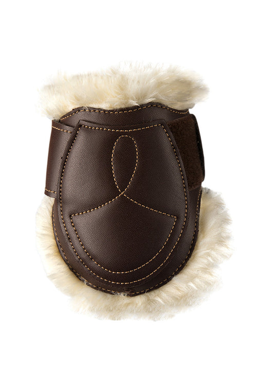 Kentucky horsewear sheepskin leather fetlock boots. Free UK Delivery
