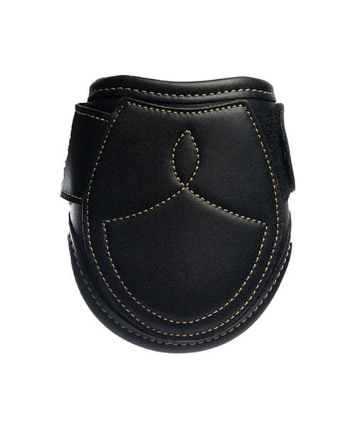 Kentucky Horsewear leather fetlock boot black