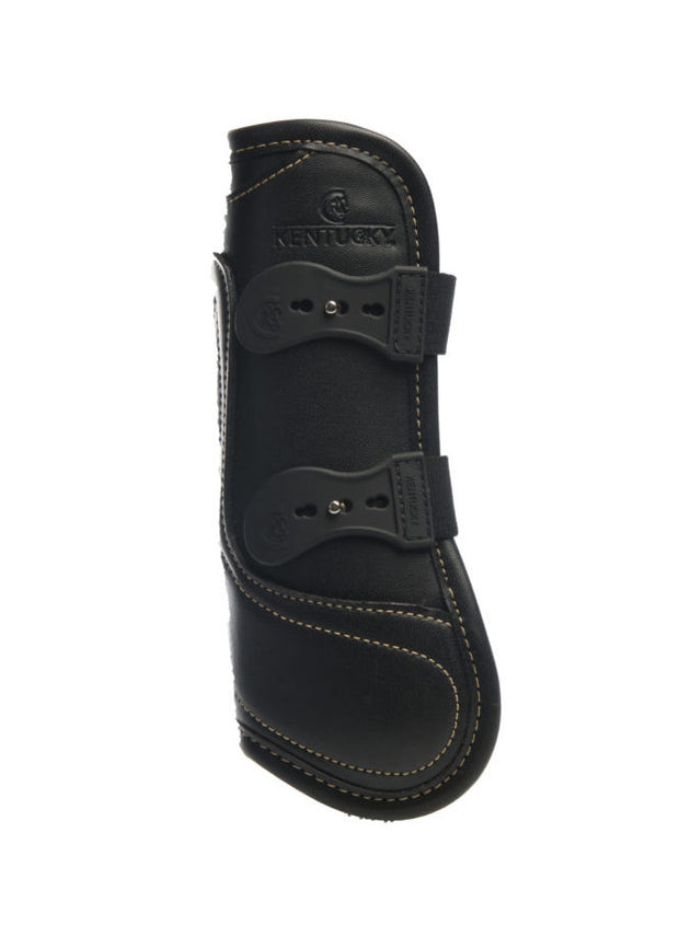 Kentucky Horsewear Leather Tendon Boot Black