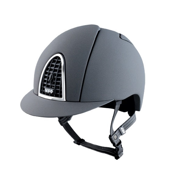 KEP Cromo T riding hat helmet grey Equissimo