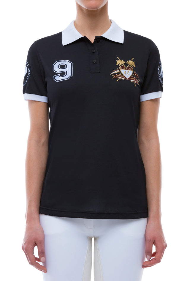 Miasuki Missy Polo Shirt black