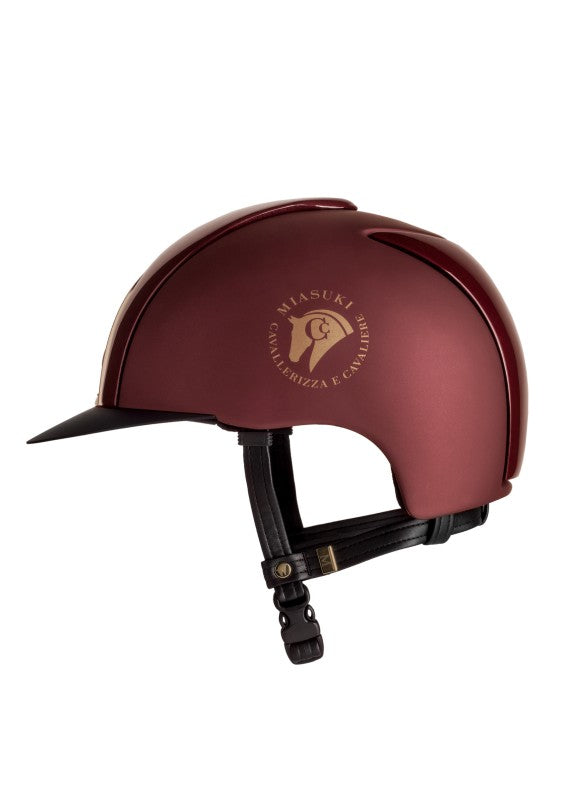 Miasuki Winner Amarone riding hat