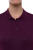 Miasuki Zoe Polo shirt Amarone