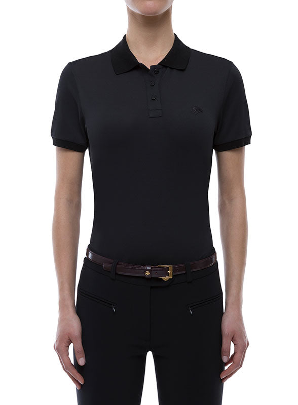 Miasuki Zoe Polo shirt Black