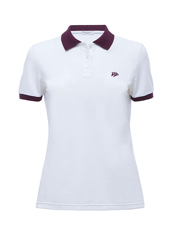Miasuki Zoe Polo shirt White