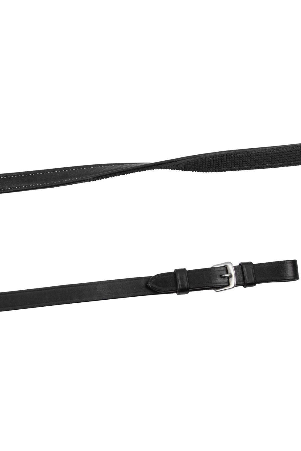 Montar Leather Rubber Reins Equissimo