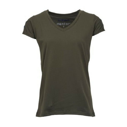 Montar Alexa T shirt army from Equissimo