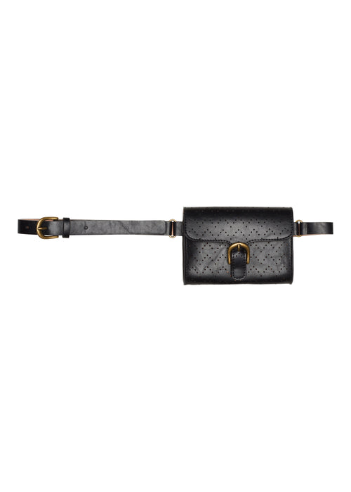 Montar leather belt with purse from Equissimo