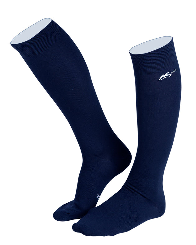 Anna Scarpati Montevideo Socks Navy
