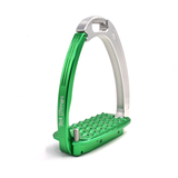 Tech Stirrups Venice Silver and Green