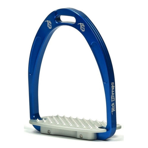 Tech stirrups athena jump stirrup blue from Equissimo