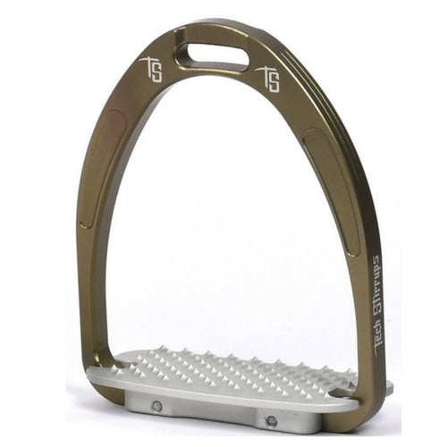 Tech stirrups athena jump stirrup brown from Equissimo