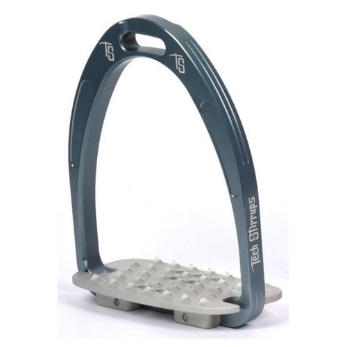 Tech stirrups iris cross country in titanium from Equissimo