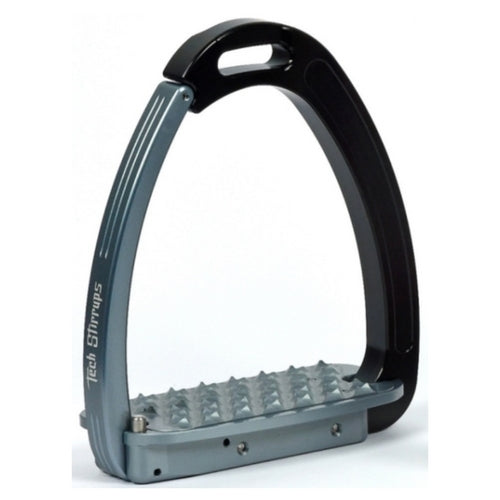 Tech stirrups venice titanium and black safety stirrup from Equissimo
