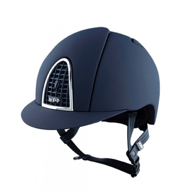 KEP Cromo T riding hat helmet Equissimo blue