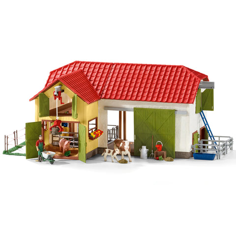 Schleich Large farm with animals and accessories 42333 Schleich Retired 2019 Schleich retiring 2019