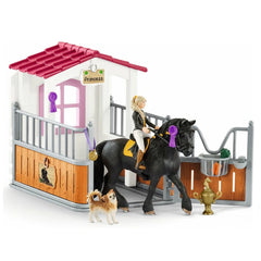 Limited Edition Horse Box with Tori & Princess  Schleich 42437 Schleich Retired Schleich Retiring Schleich Exclusive