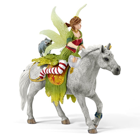 Schleich Marween in Festive Clothes riding 70517 Schleich Retiring 2019 Schleich Retired 2019