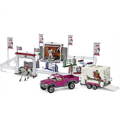 Limited Edition Riding Tournament with Pick up set  Schleich 72105 Schleich Retired Schleich Limited Edition