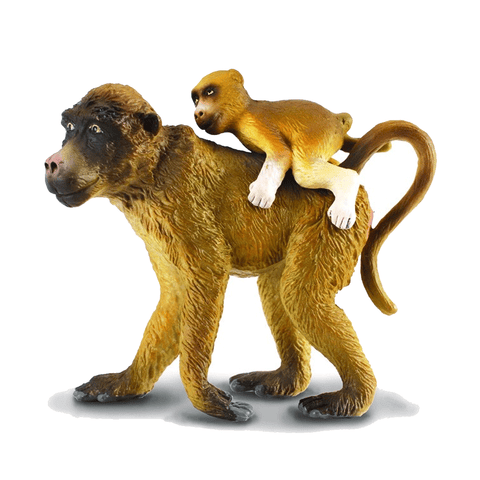 CollectA Baboon female with baby 88203 Retired 2018