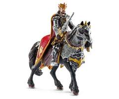 Schleich Dragon Knight King with Horse #70115