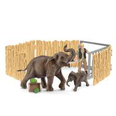 Special Edition Home for elephants  Schleich 72111