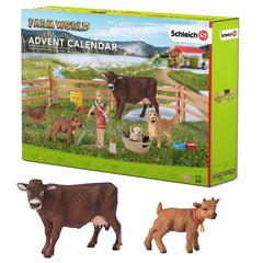 Exclusive Advent Calendar Farm World  Schleich 97335  Introduced: 2016; Retired: 2016  Include Exclusive: Limousine Cow and Goat kid