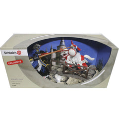 Exclusive Knights - Dragon Knight Berserker  Schleich 72061  Introduced: ; Retired:  Released by ToysRus