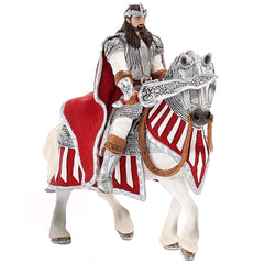 Exclusive Knights - Red Griffin King on Horseback  Schleich 72064  Introduced: ; Retired: