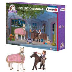 "Exclusive Mustang Mare and Mustang Foal  Schleich 97151  Introduced: 2016; Retired: 2016  Advent Calendar ""Horse Club"