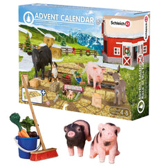 Exclusive Piglets and Feed Set  Schleich 97052  Introduced: 2015; Retired: 2015  Advent Calendar - Race at the Farm