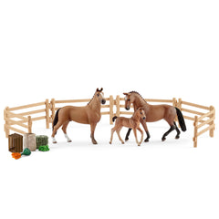 Limited Edition Hanoverian family in the pasture  Schleich 42405