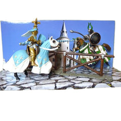 Special Edition Tournament Set Jousting Knights  Schleich 72008  Introduced: 2012; Retired: 2013