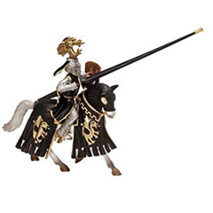 Special Edition Gold Knight on Horse  Schleich 72005  Introduced: 2011; Retired: 2012