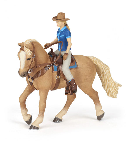 Papo Wild West Horse and Rider 51566