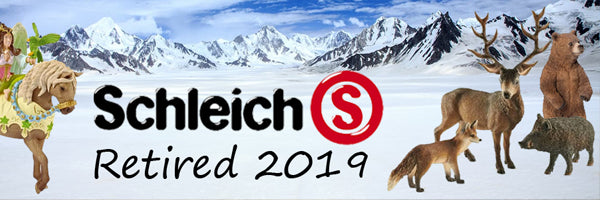 Schleich Retiring 2019 Schleich Retired 2019