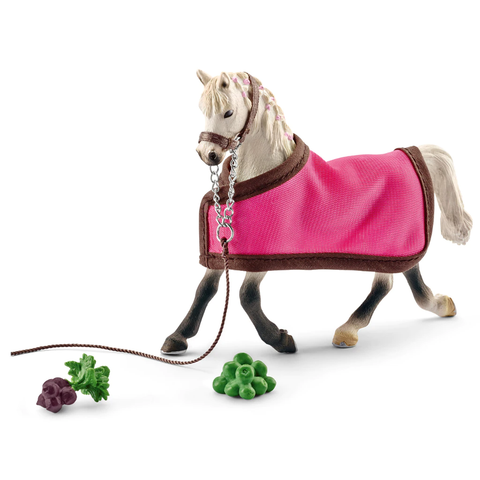 Schleich Arab Mare with Blanket 41447