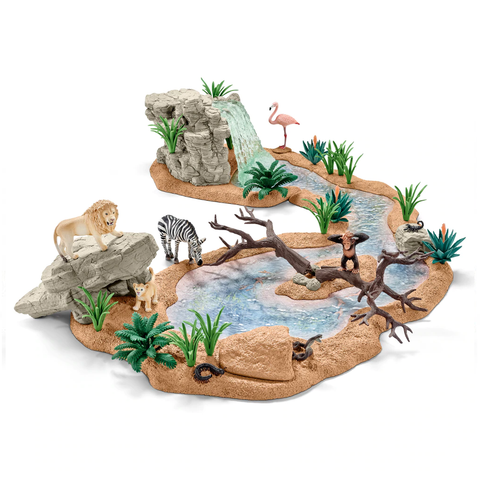 Schleich Big Adventure at the Waterfall 42321